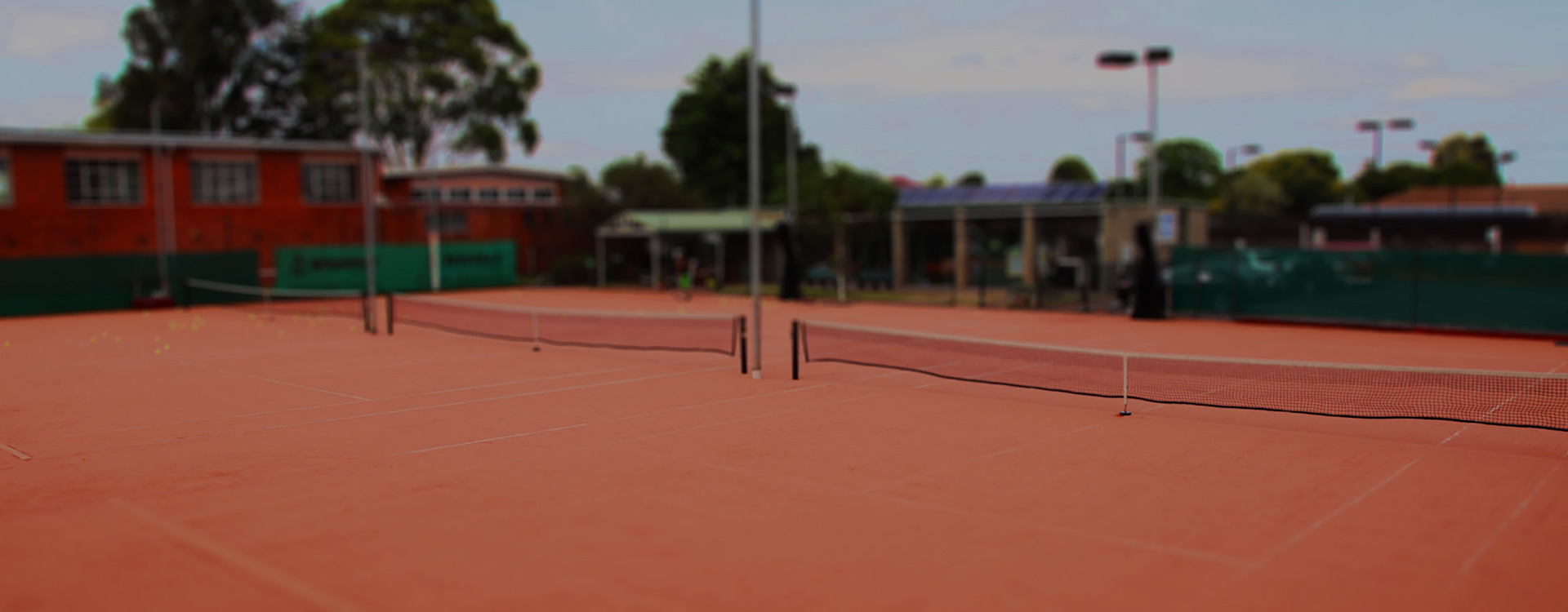 Clarinda Tennis Club front courts